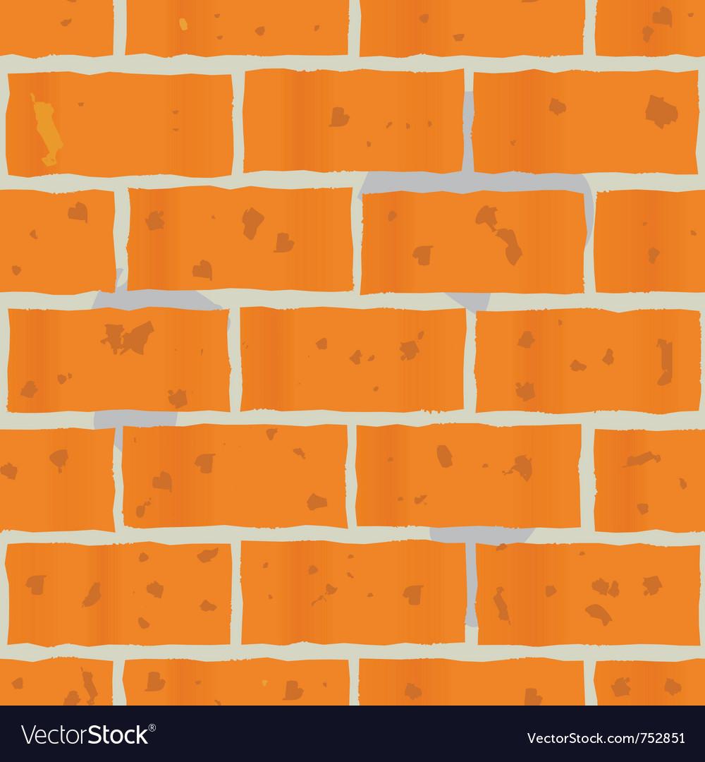 Red bricks wall seamless vector | Price: 1 Credit (USD $1)