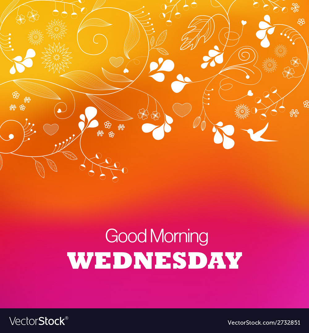 Wednesday vector | Price: 1 Credit (USD $1)