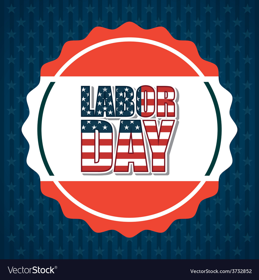 Labor day vector | Price: 1 Credit (USD $1)