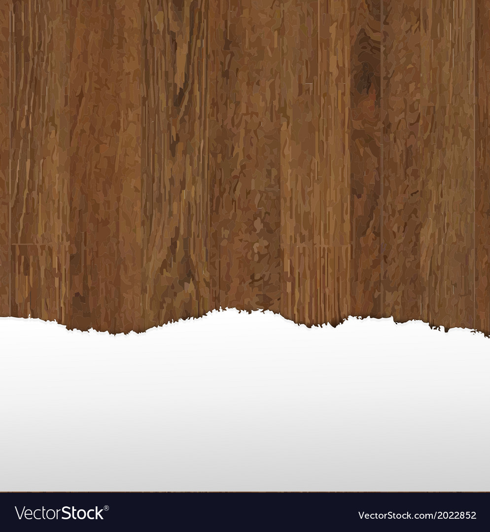 Wooden panel with paper vector | Price: 1 Credit (USD $1)