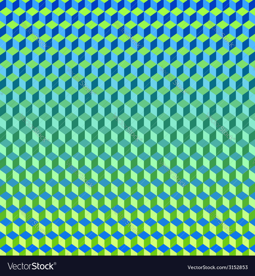 Psychodelic background from cubes vector   Price: 1 Credit (USD $1)