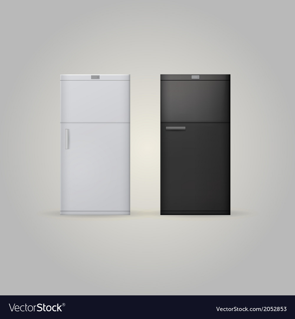 Two fridges vector | Price: 1 Credit (USD $1)