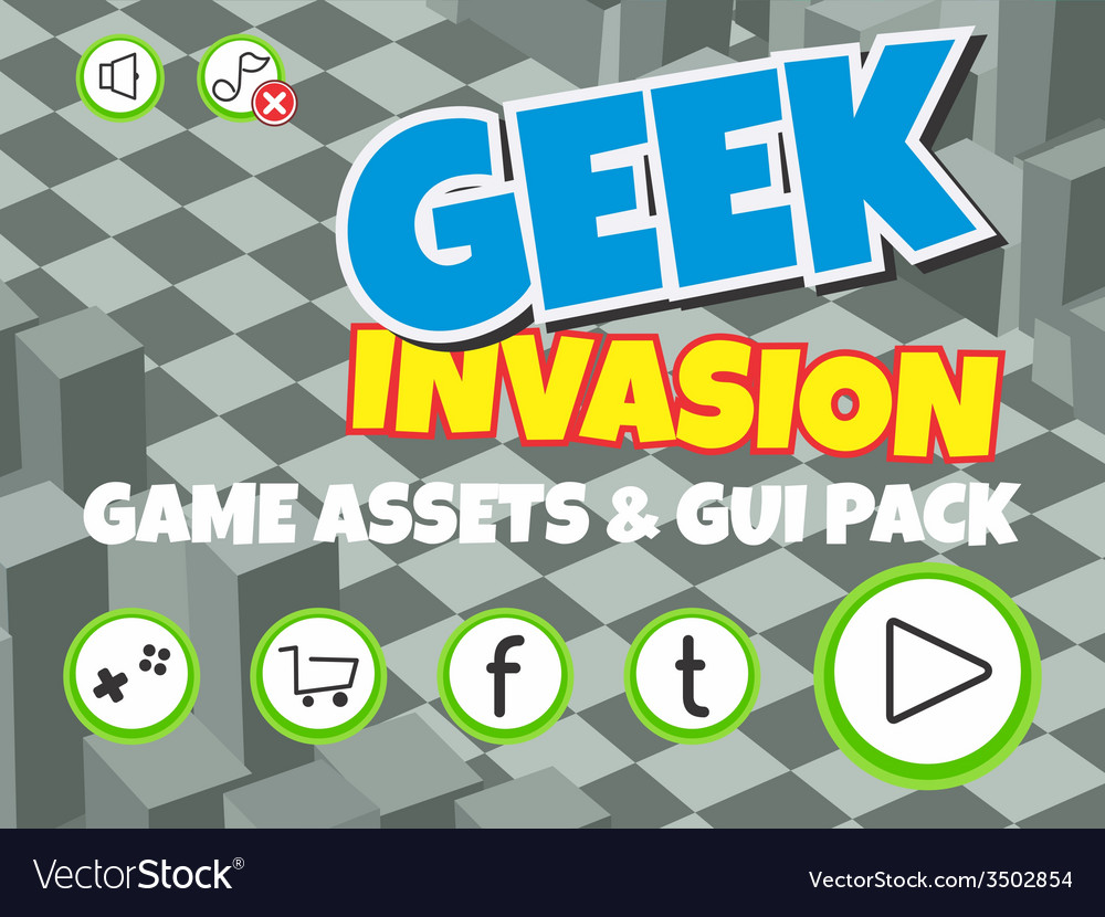 Game assets element vector | Price: 1 Credit (USD $1)