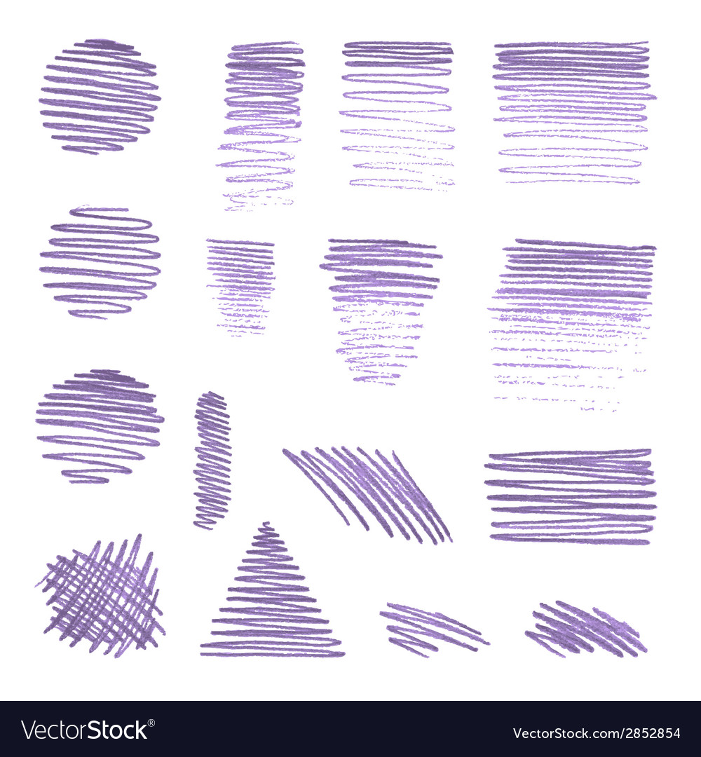 Set of various pencil strokes vector   Price: 1 Credit (USD $1)