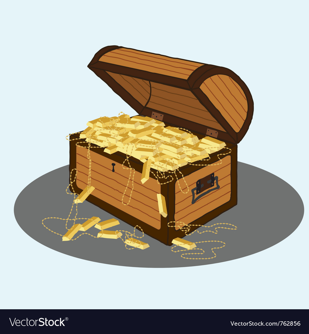 Treasure chest vector | Price: 3 Credit (USD $3)