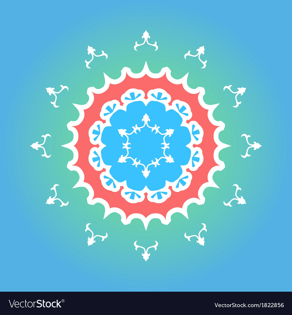 Yakutian style ornament vector | Price: 1 Credit (USD $1)
