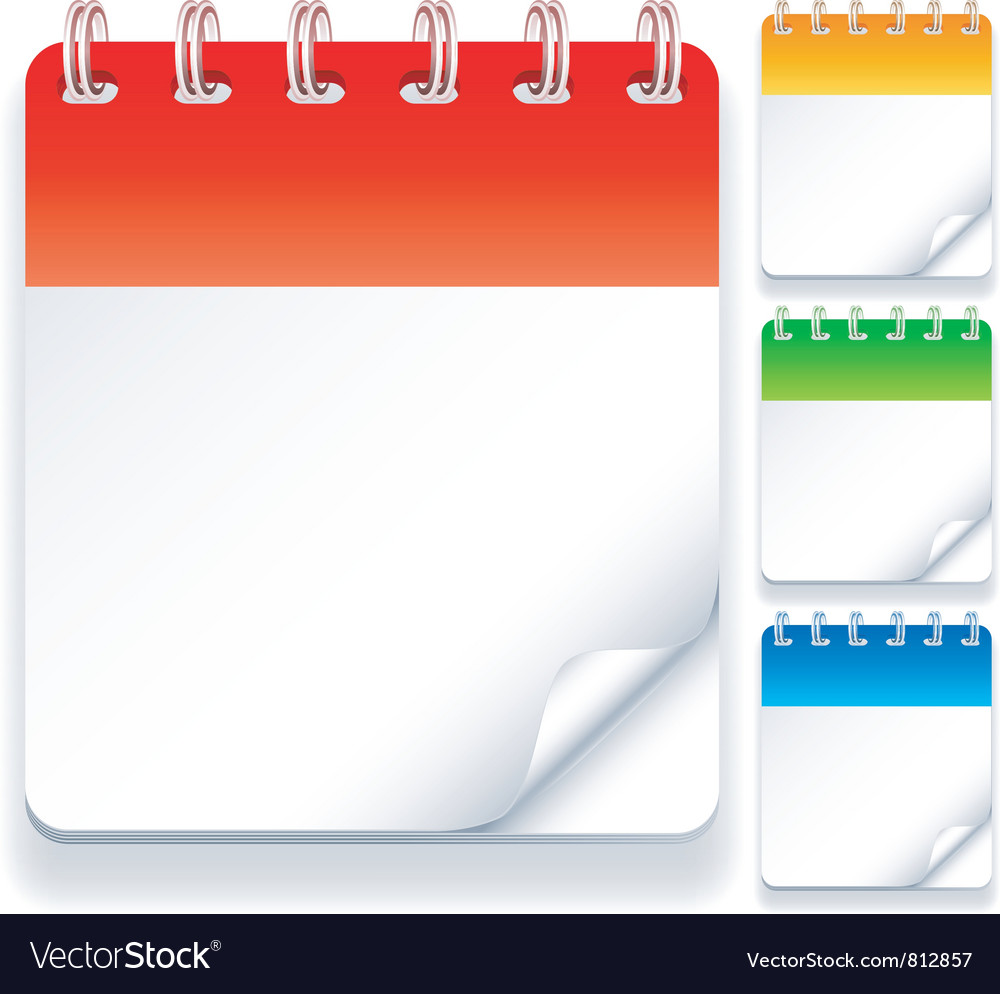 Calendars vector | Price: 1 Credit (USD $1)