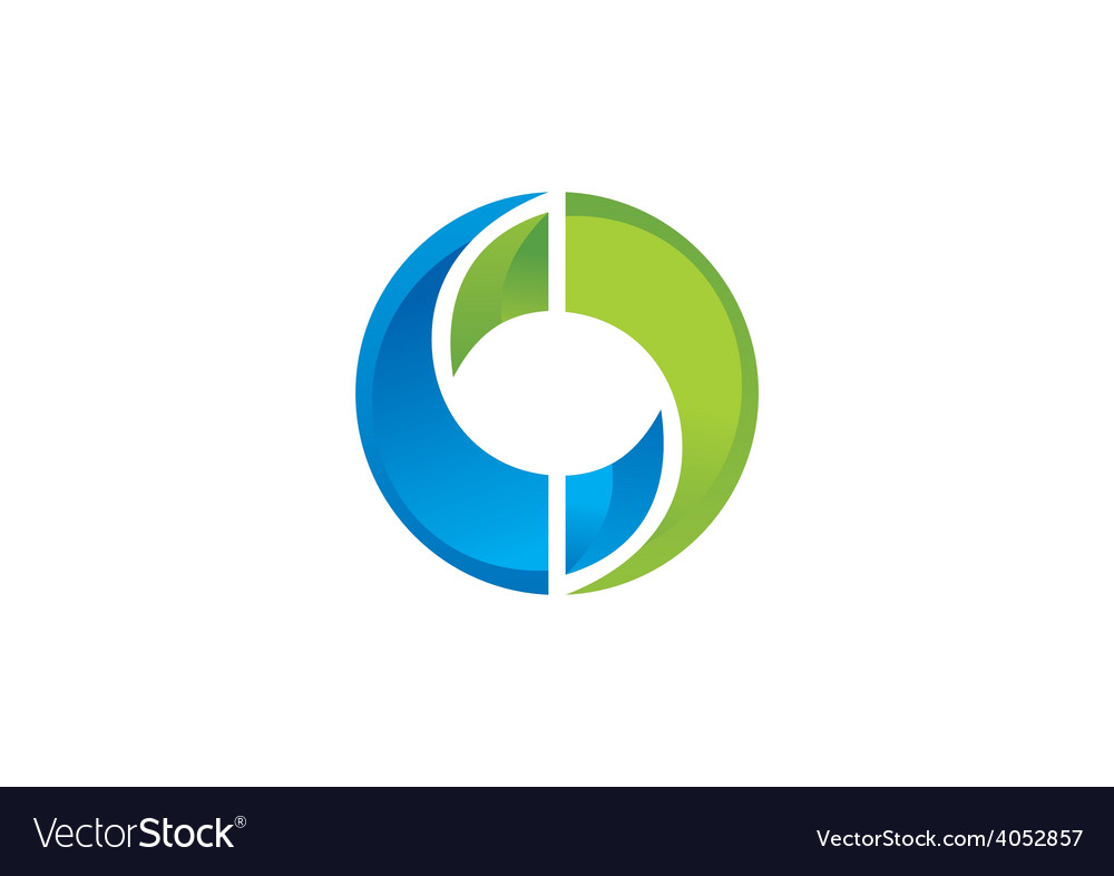 Circle infinity technology logo vector | Price: 1 Credit (USD $1)