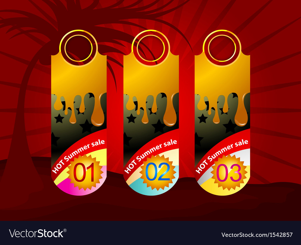 Promotion label background vector | Price: 1 Credit (USD $1)