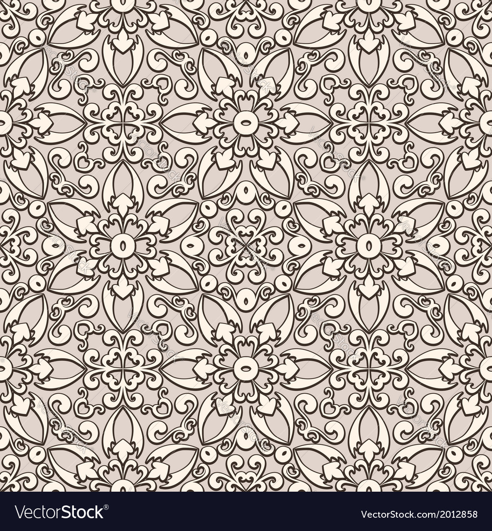 Beige lace pattern vector | Price: 1 Credit (USD $1)