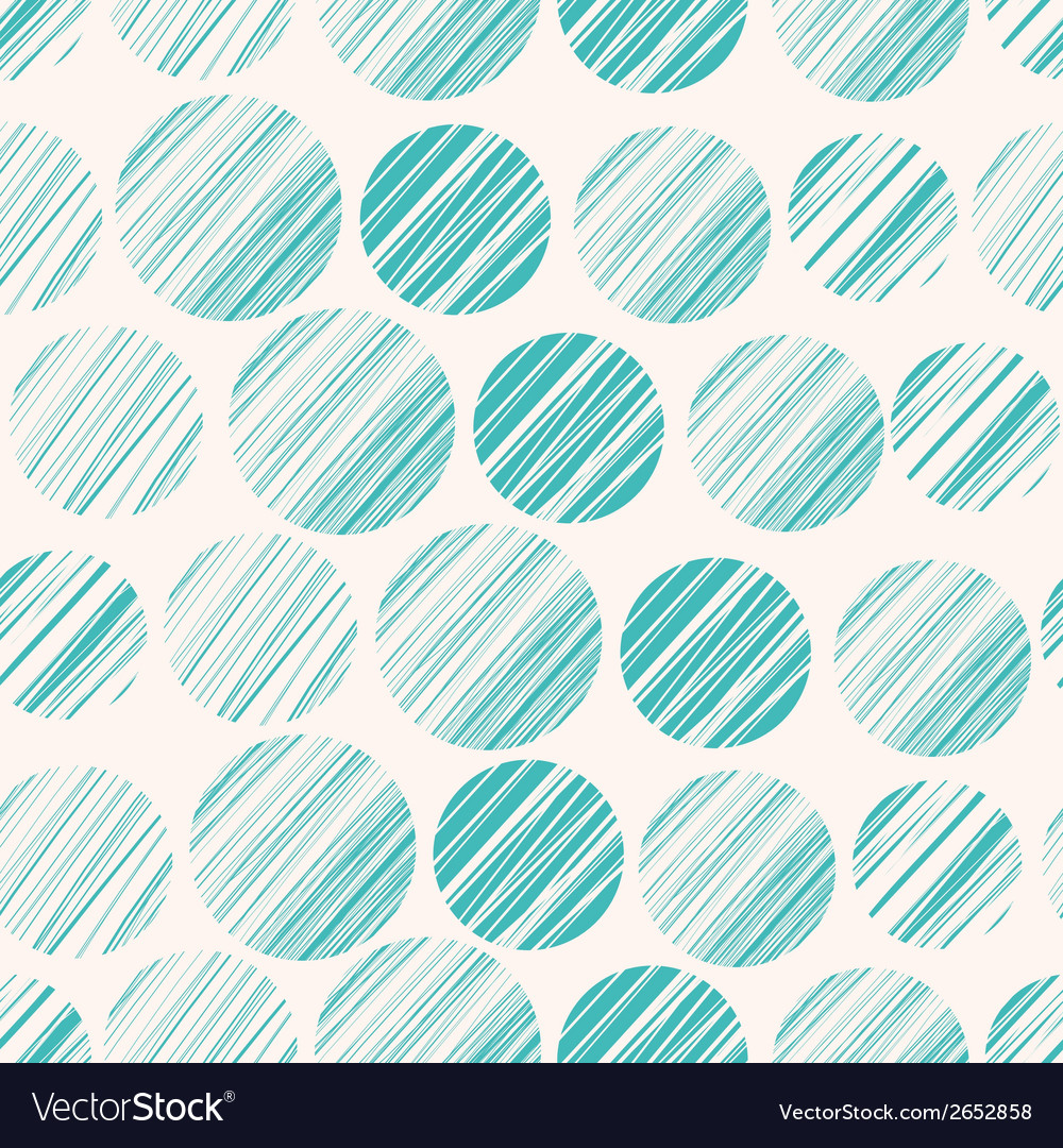 Seamless pattern with hand drawn circle elements vector   Price: 1 Credit (USD $1)