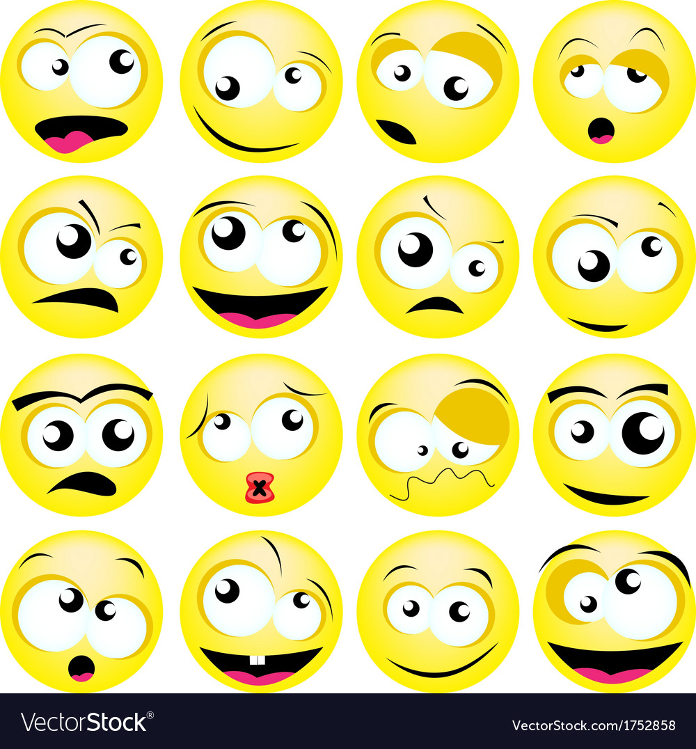 Smileys vector | Price: 1 Credit (USD $1)