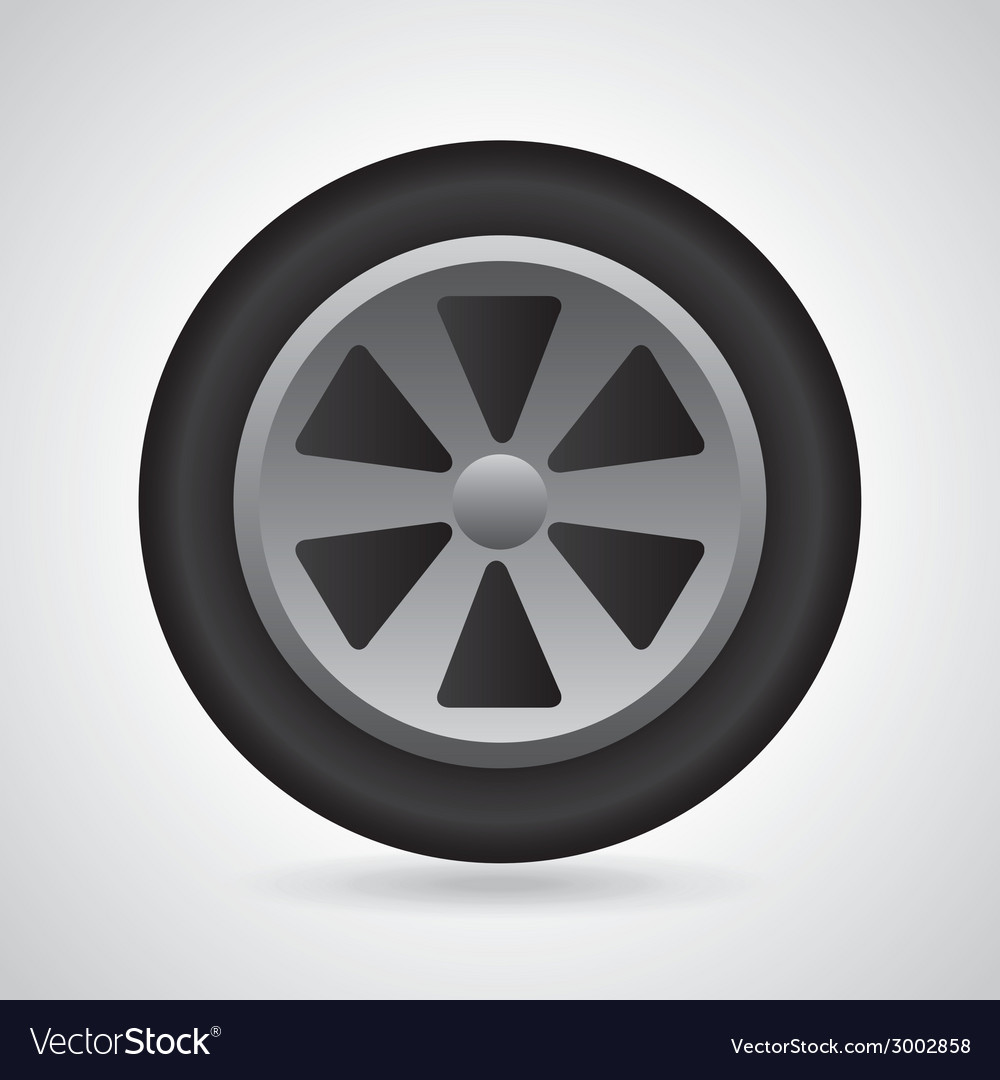 Wheel design vector | Price: 1 Credit (USD $1)