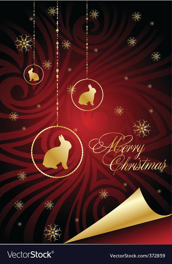 Decorative christmas vector | Price: 1 Credit (USD $1)