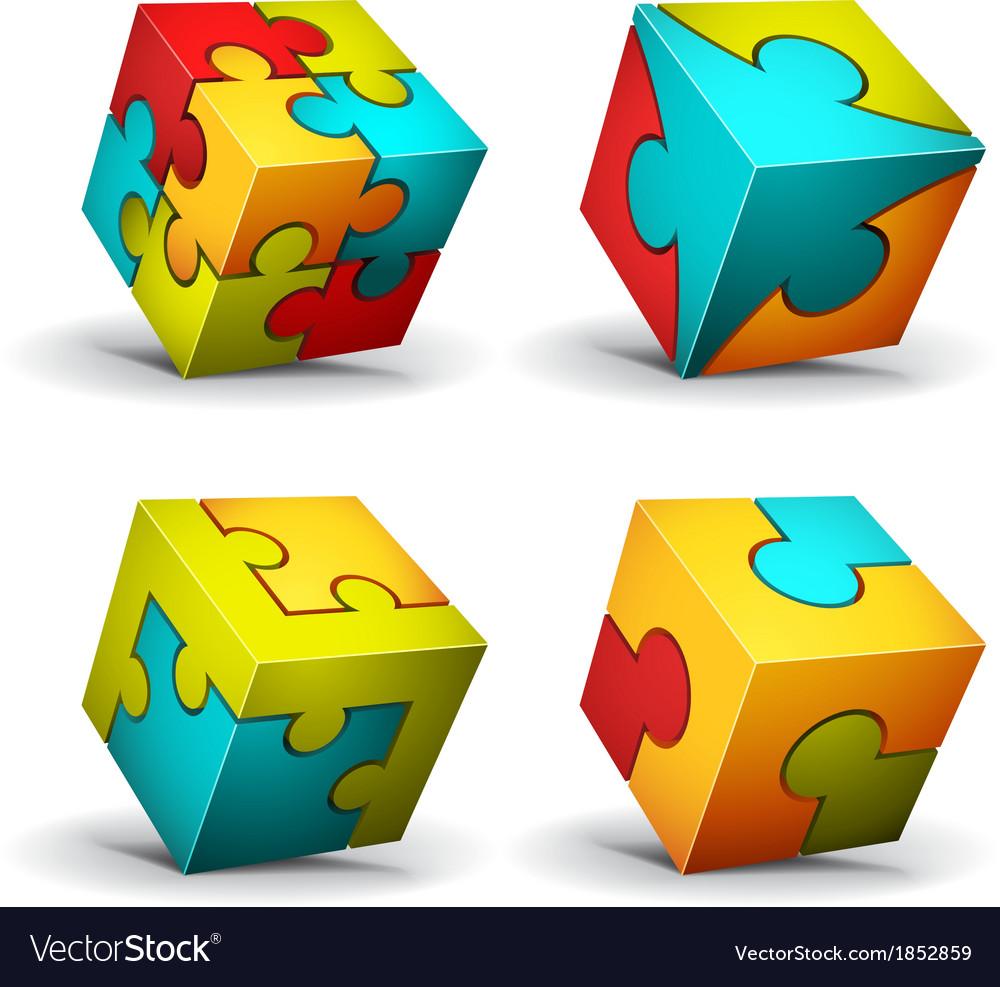 Puzzle vector | Price: 1 Credit (USD $1)
