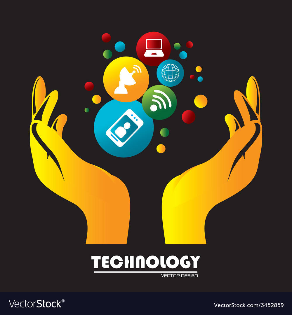 Technology vector | Price: 1 Credit (USD $1)
