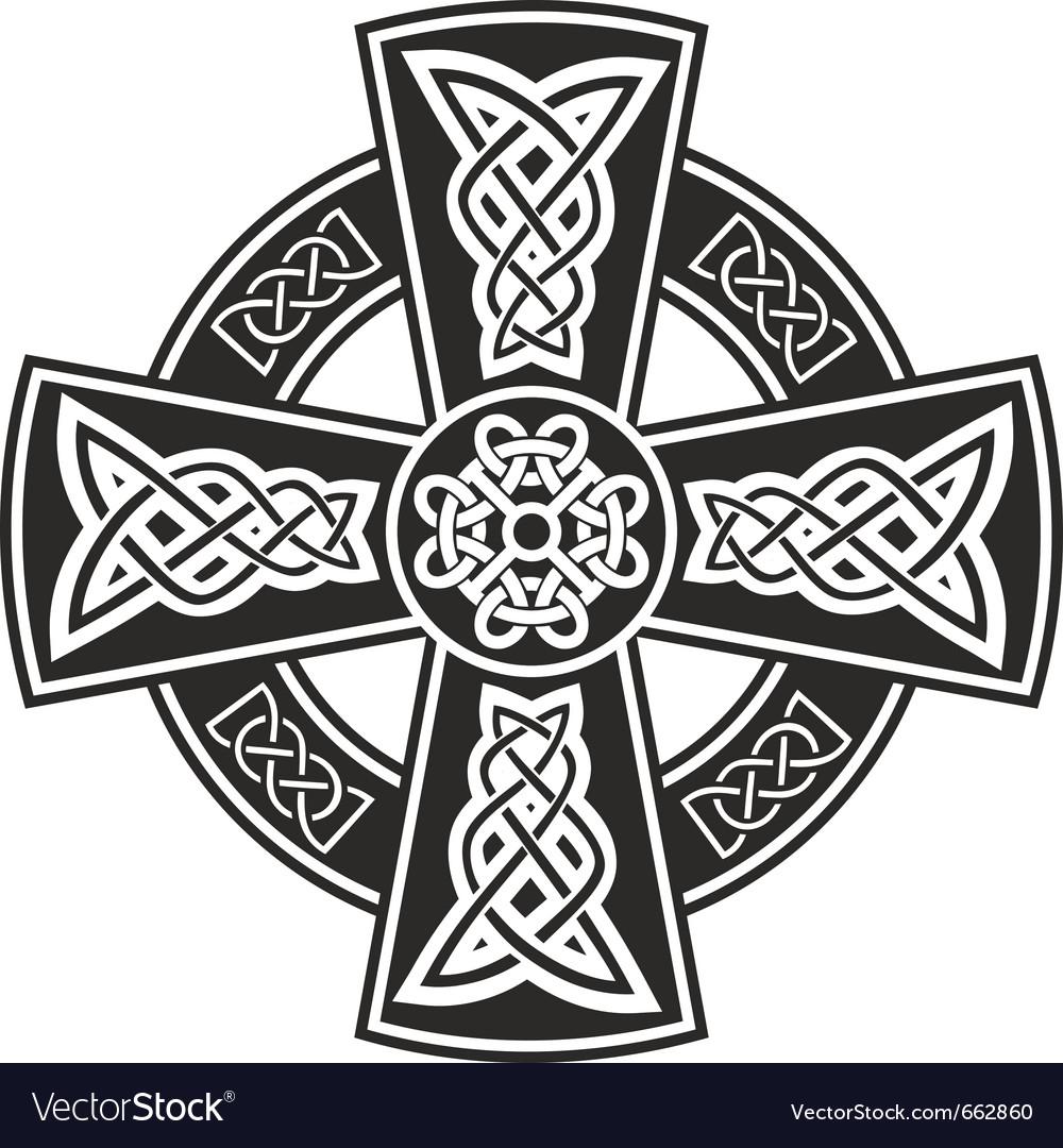 Celtic cross vector | Price: 1 Credit (USD $1)