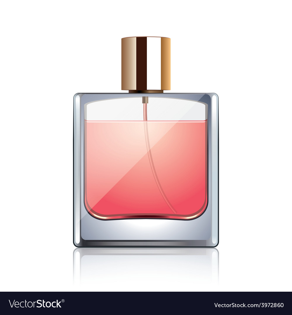 Perfume bottle isolated vector | Price: 1 Credit (USD $1)