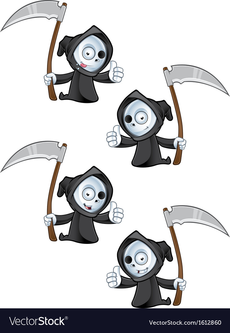 Reaper giving a thumbs up vector | Price: 1 Credit (USD $1)