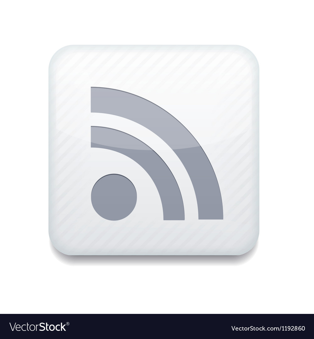 Rss icon vector | Price: 1 Credit (USD $1)