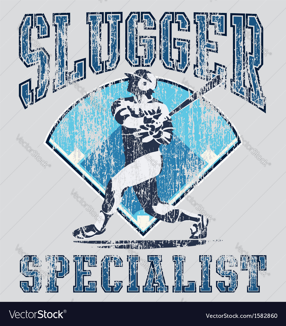 Slugger batter vector | Price: 1 Credit (USD $1)