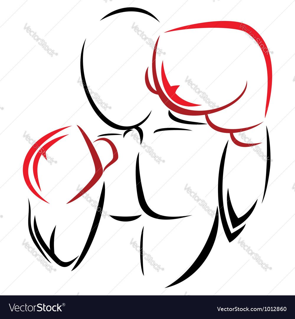 Symbol boxer vector | Price: 1 Credit (USD $1)