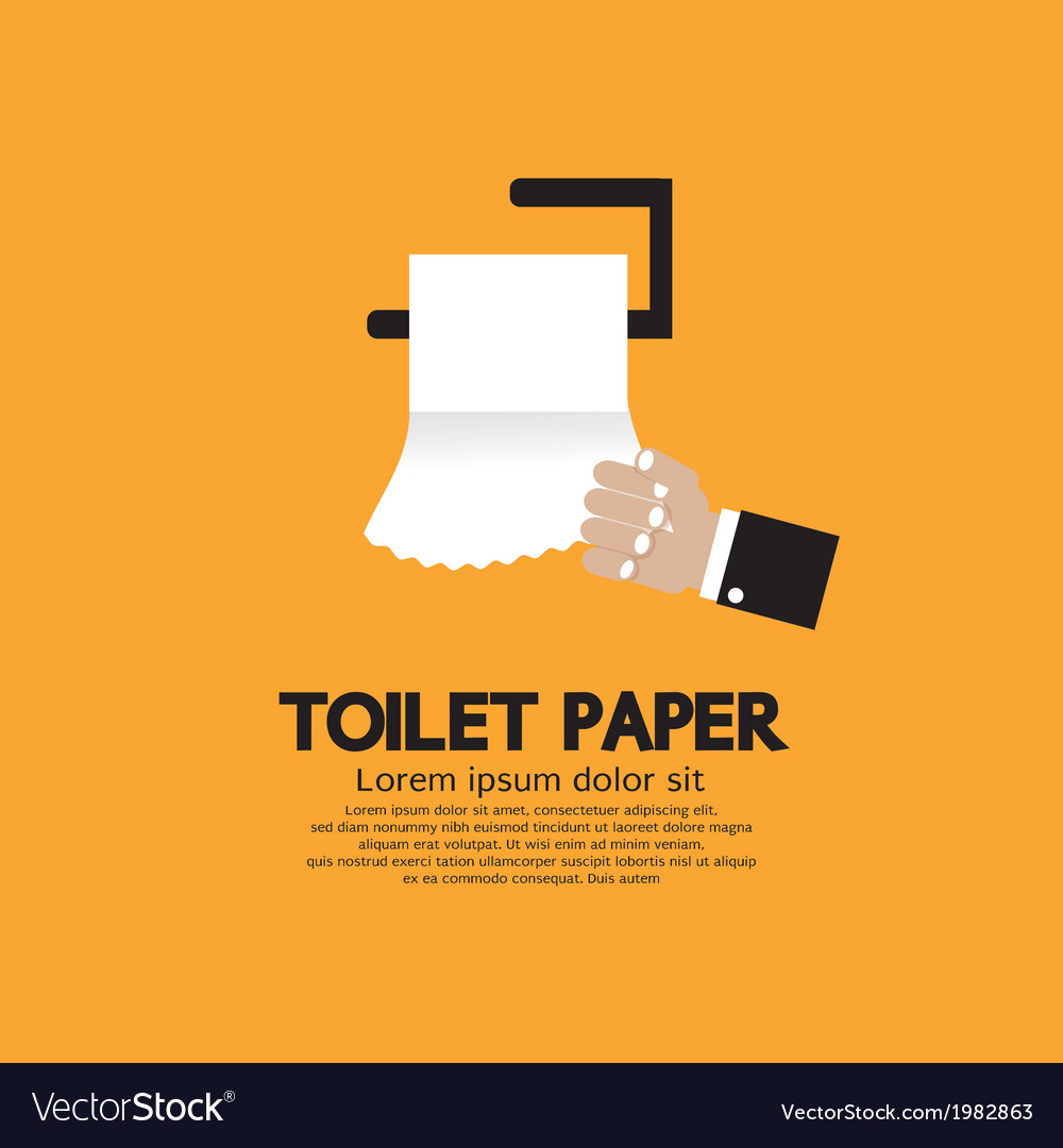 Toilet paper vector | Price: 1 Credit (USD $1)