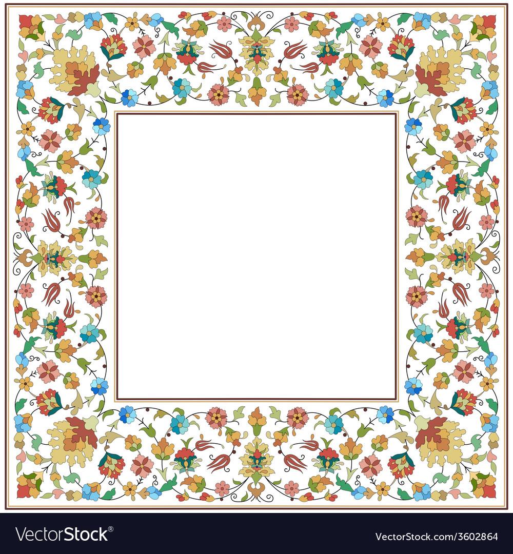 Artistic ottoman pattern series twenty six vector   Price: 1 Credit (USD $1)