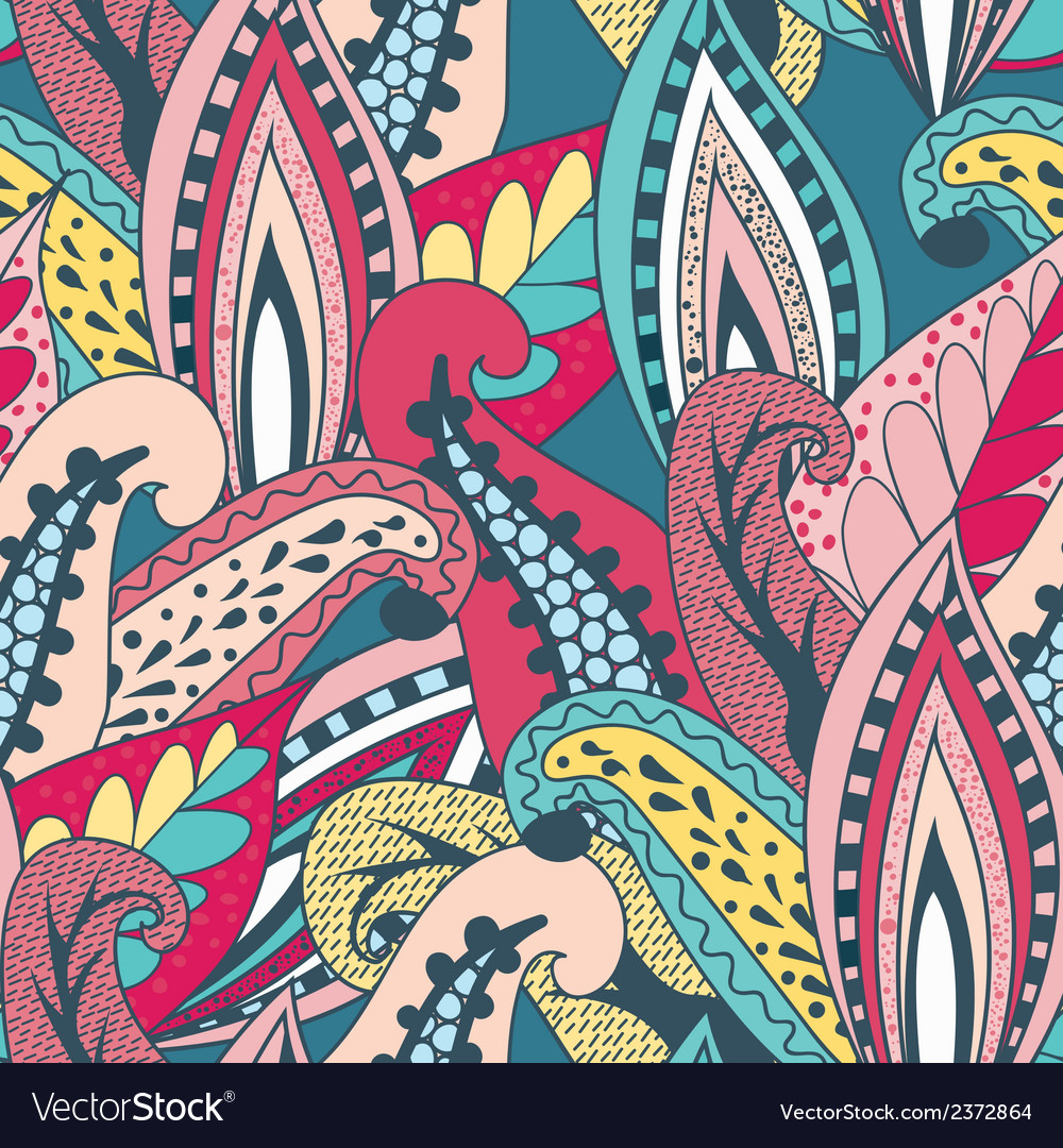 Beautiful vintage pattern vector | Price: 1 Credit (USD $1)
