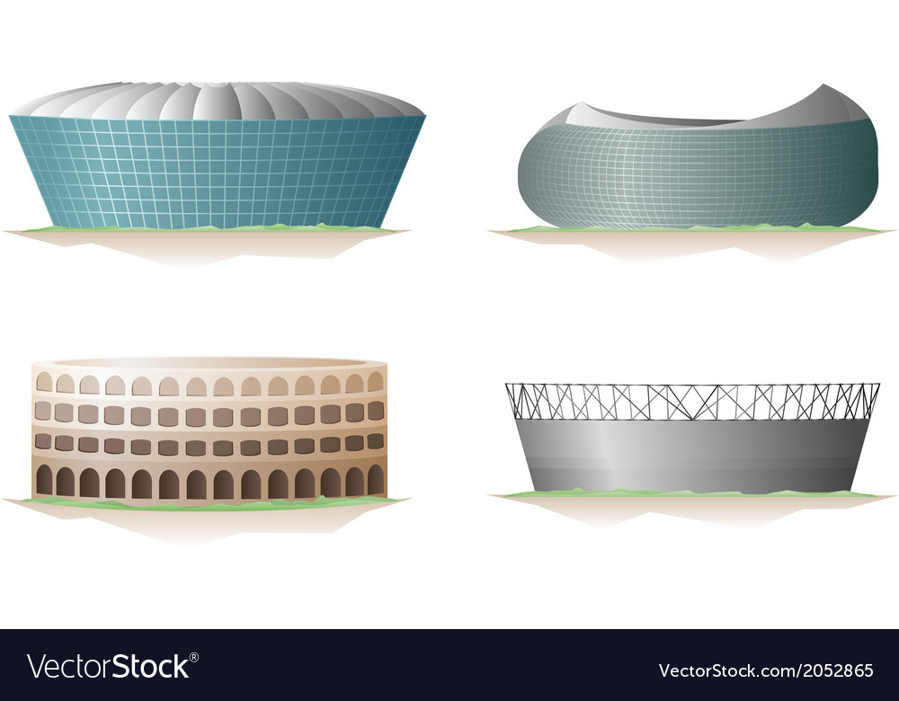 Stadium set vector | Price: 1 Credit (USD $1)