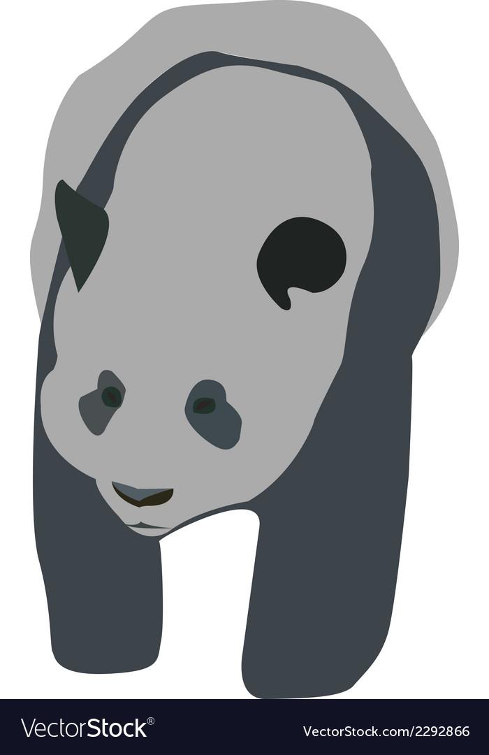Bear 1v vector | Price: 1 Credit (USD $1)