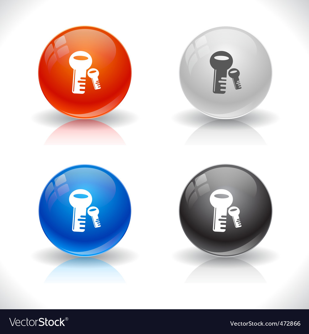 Website template buttons vector | Price: 1 Credit (USD $1)