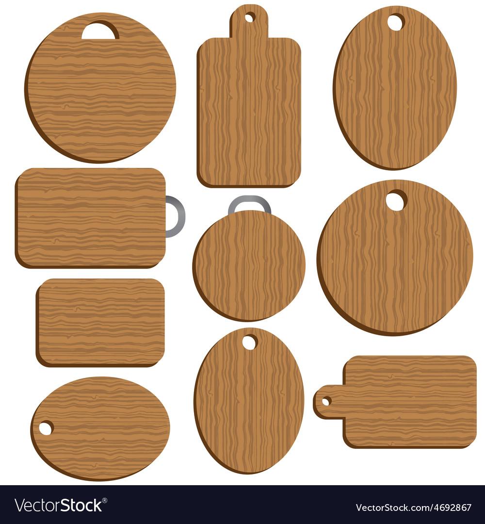 Cutting kitchen board vector | Price: 1 Credit (USD $1)