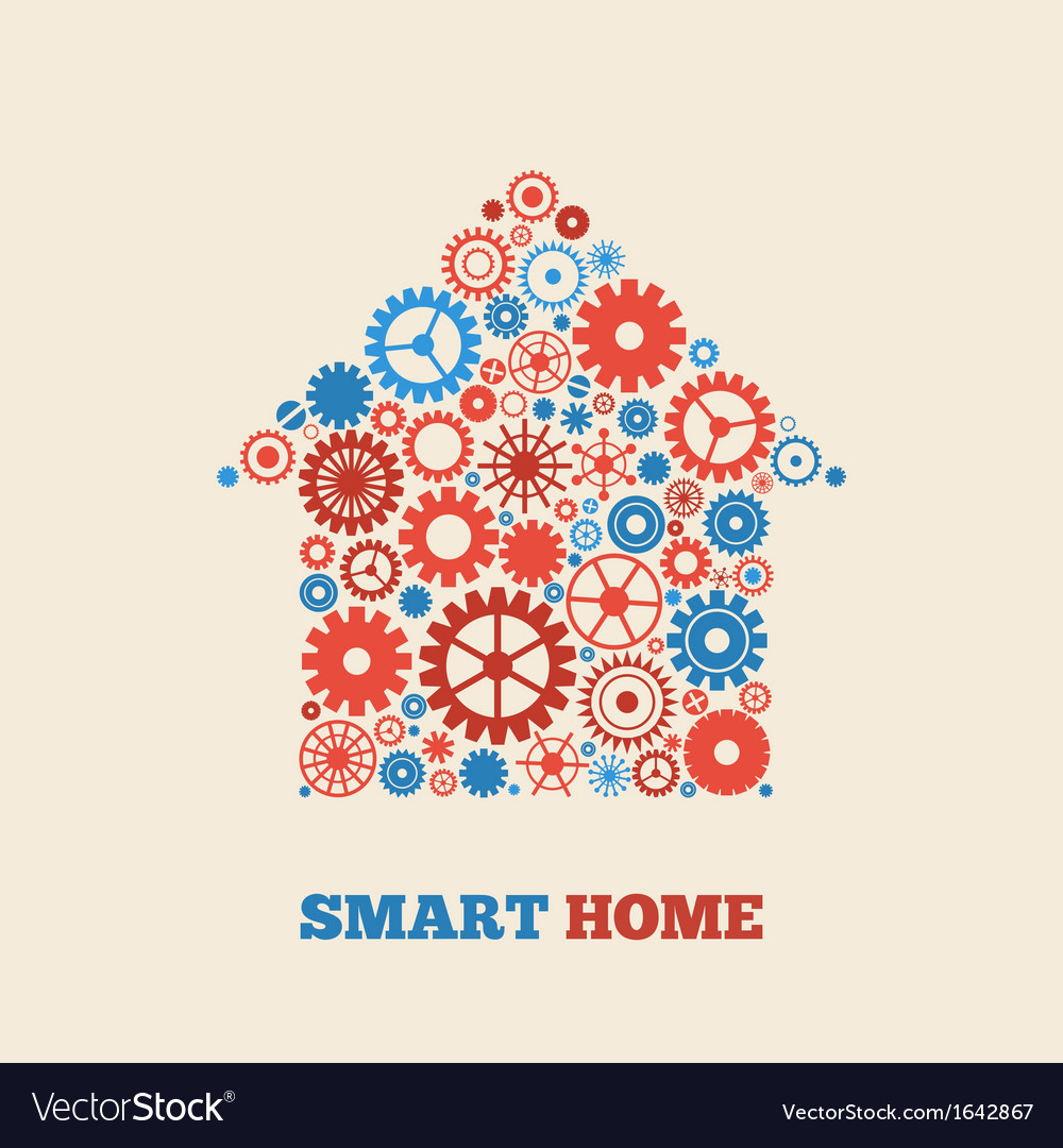 Home technology vector | Price: 1 Credit (USD $1)