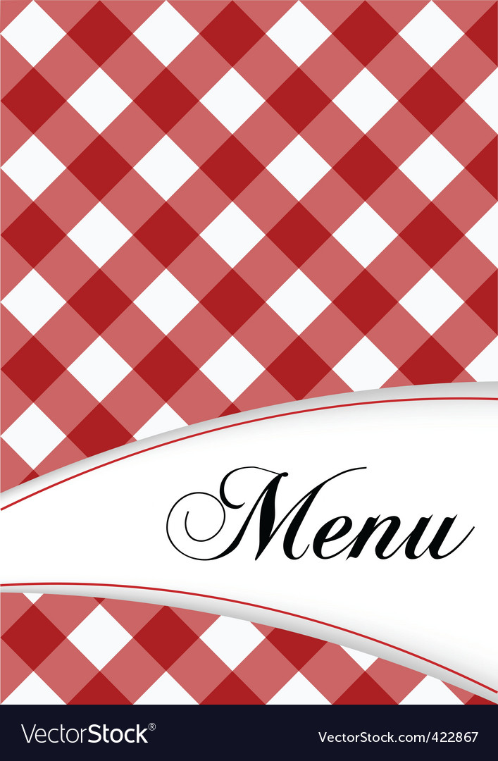 Menu card design vector | Price: 1 Credit (USD $1)