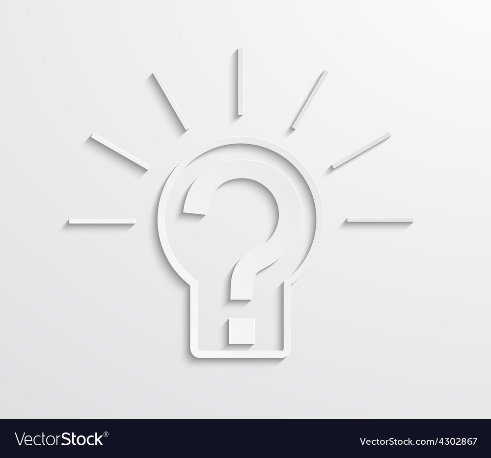 Modern light bulb background vector | Price: 1 Credit (USD $1)