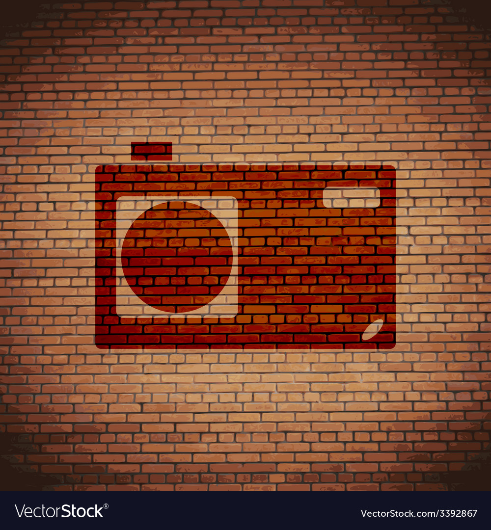 Photo camera icon symbol flat modern web design vector | Price: 1 Credit (USD $1)