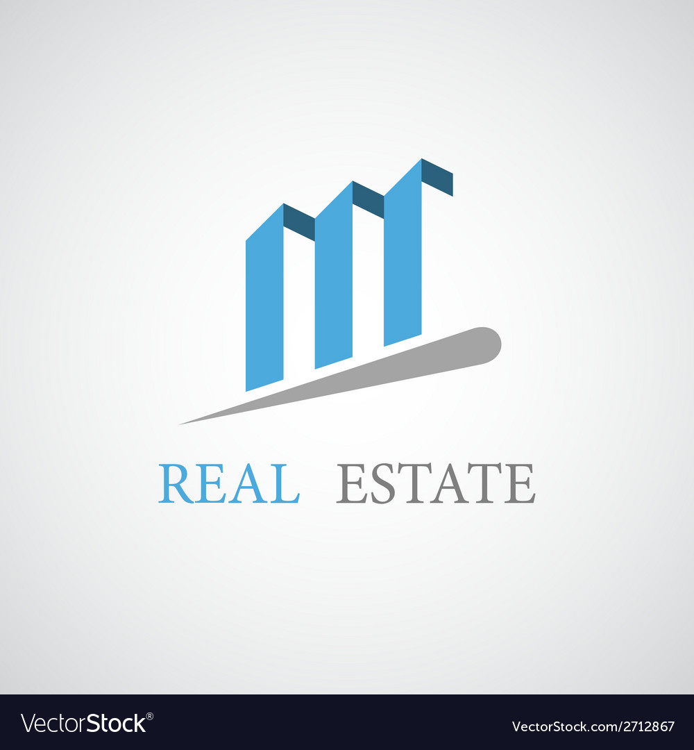 Real estate architecture icon vector | Price: 1 Credit (USD $1)