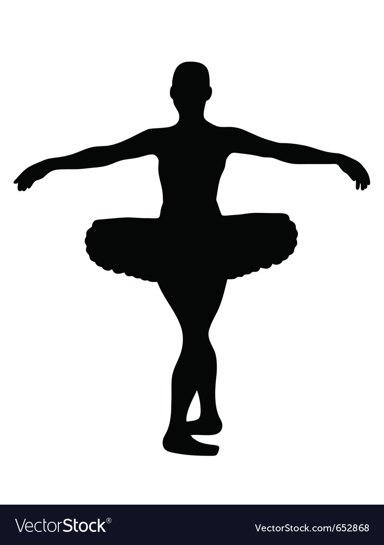 Ballerina vector | Price: 1 Credit (USD $1)