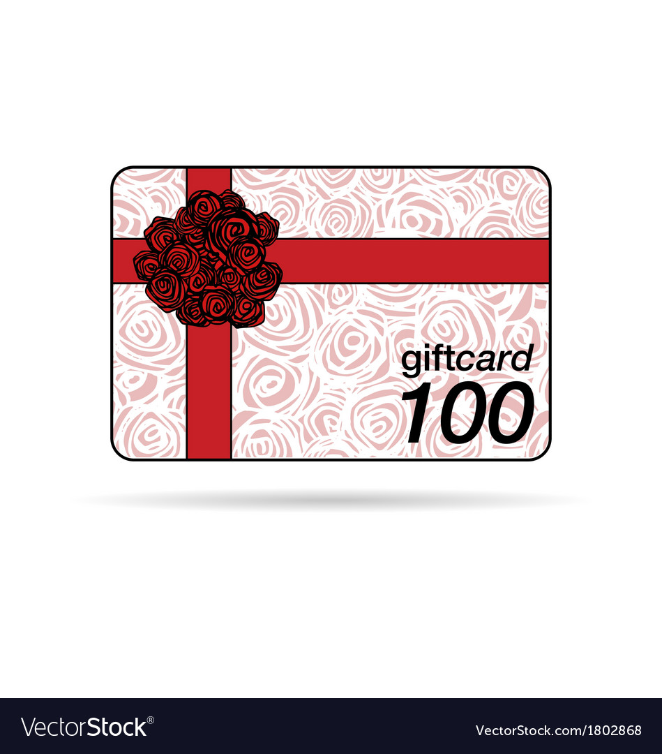 Gift card or promotion card vector | Price: 1 Credit (USD $1)