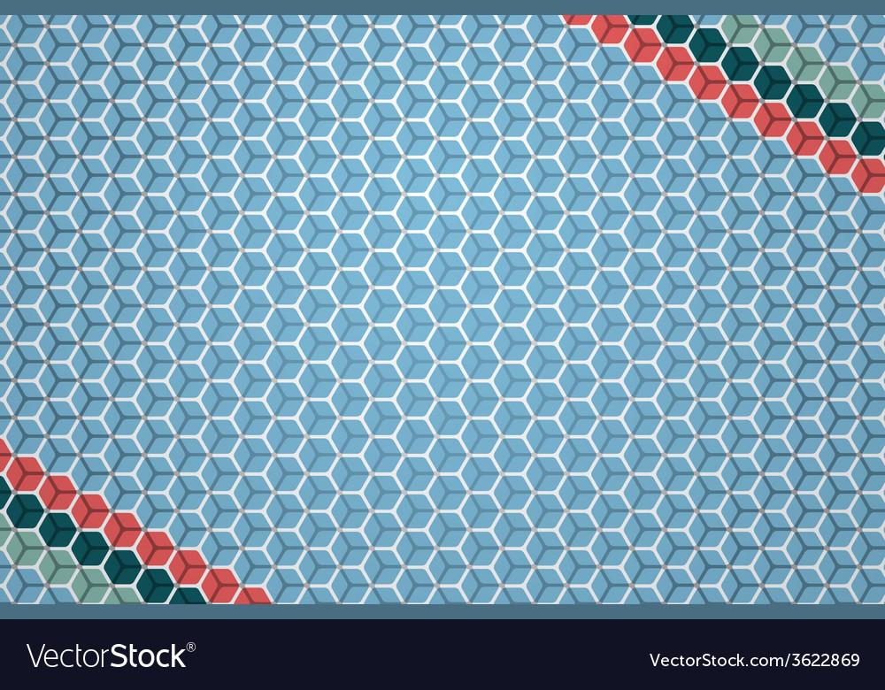 Hexagon pattern vector | Price: 1 Credit (USD $1)