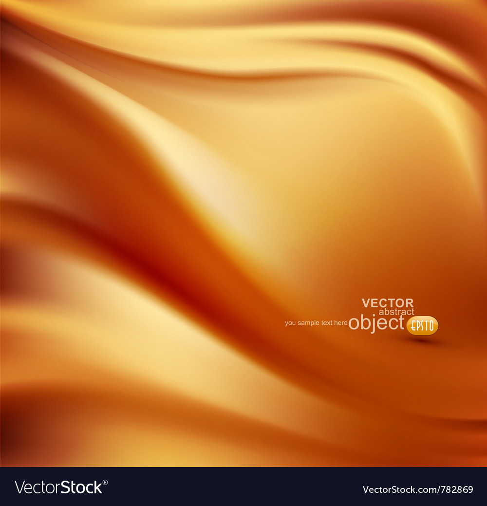 Satin gold abstract background vector | Price: 1 Credit (USD $1)