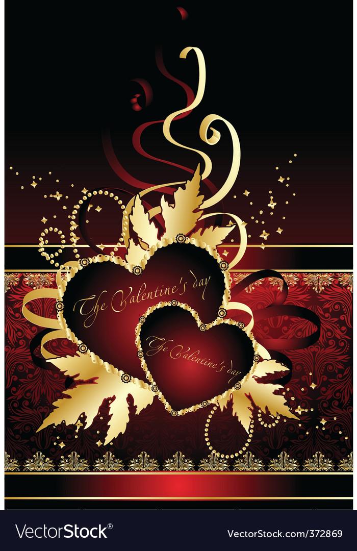 Valentines hearts vector | Price: 1 Credit (USD $1)