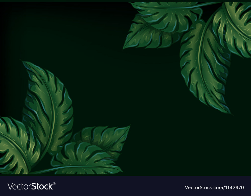 Eight leaves vector | Price: 1 Credit (USD $1)