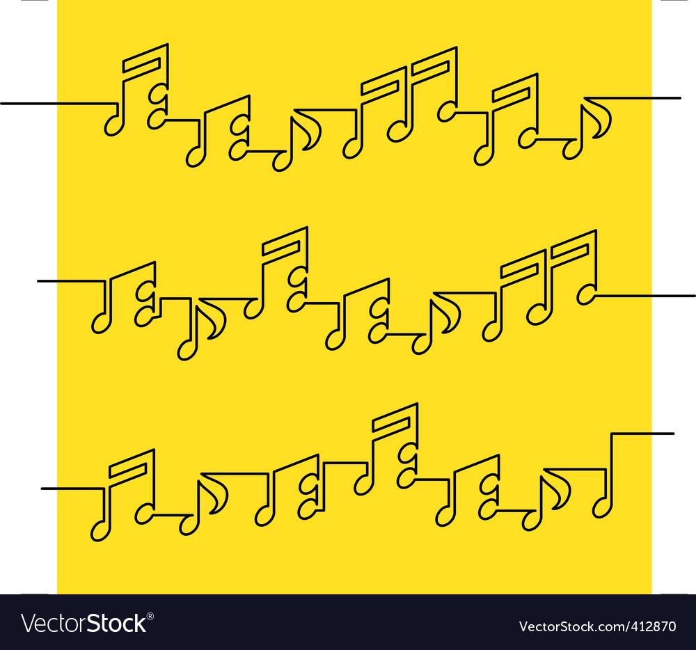 Musical notation vector | Price: 1 Credit (USD $1)