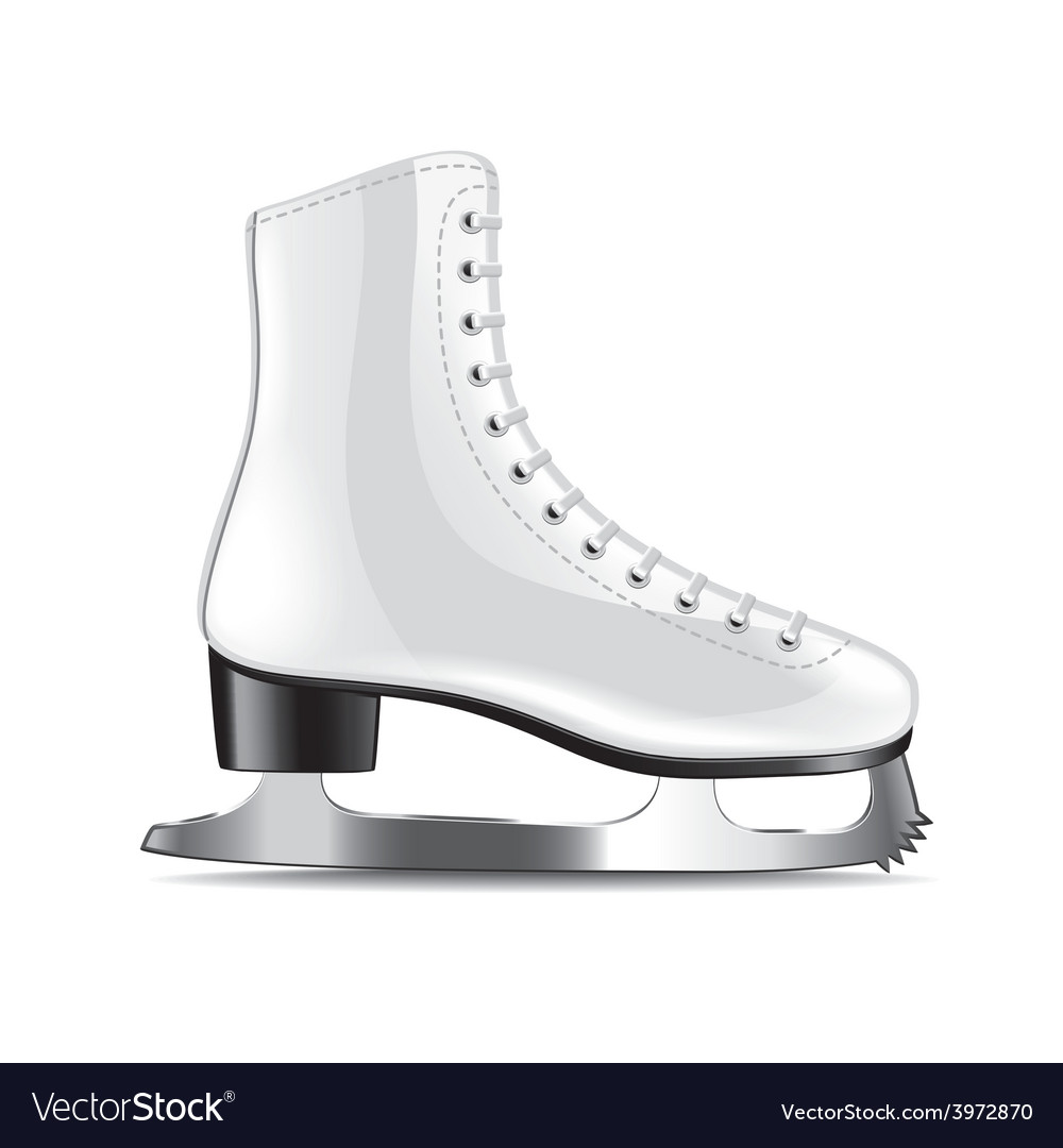 Skates isolated vector | Price: 1 Credit (USD $1)