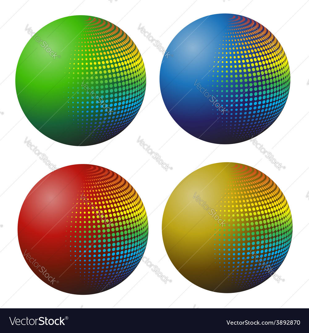 Spheres vector | Price: 1 Credit (USD $1)