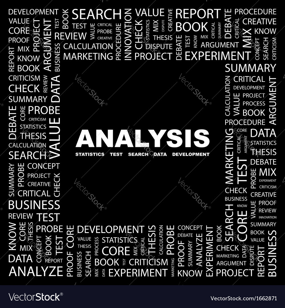 Analysis vector | Price: 1 Credit (USD $1)