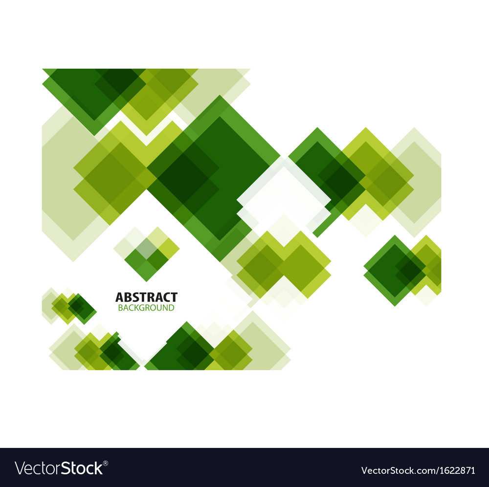 Green modern geometrical abstract background vector | Price: 1 Credit (USD $1)