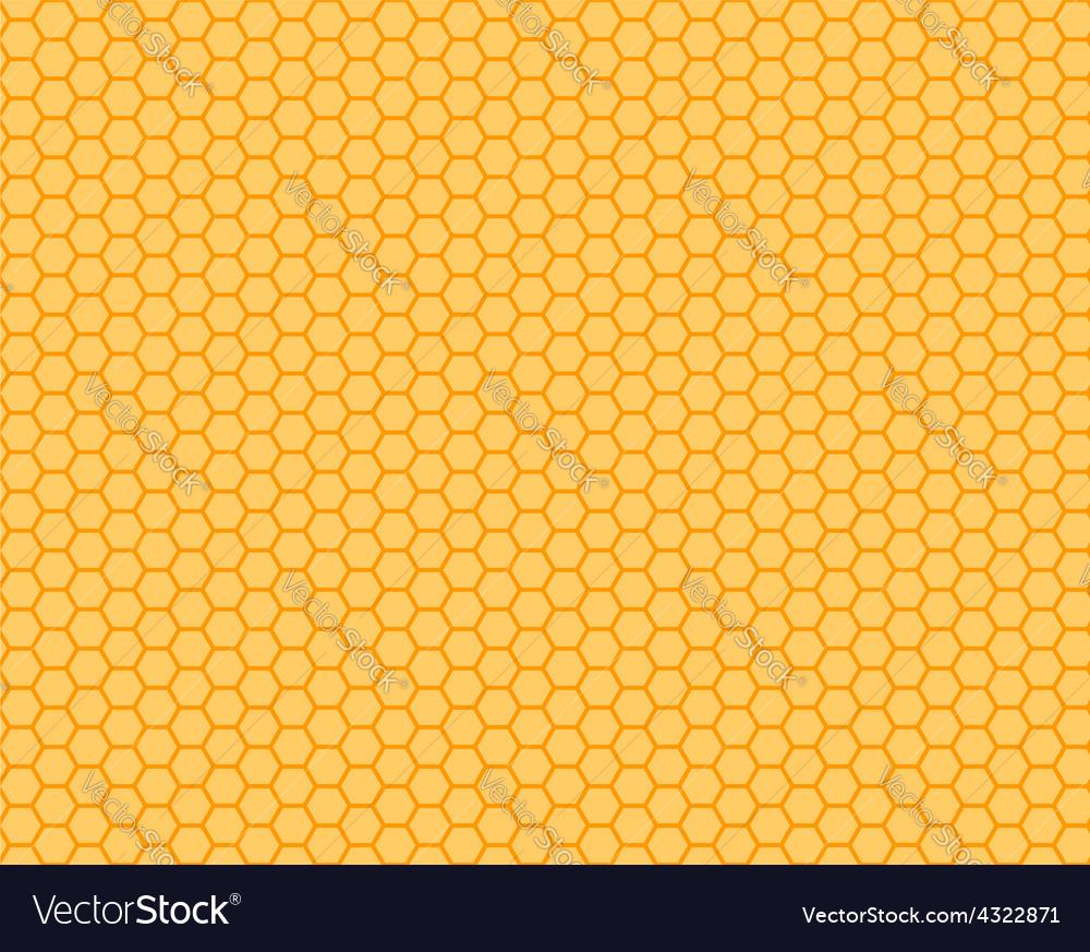 Honeycomb orange and yellow seamless vector | Price: 1 Credit (USD $1)